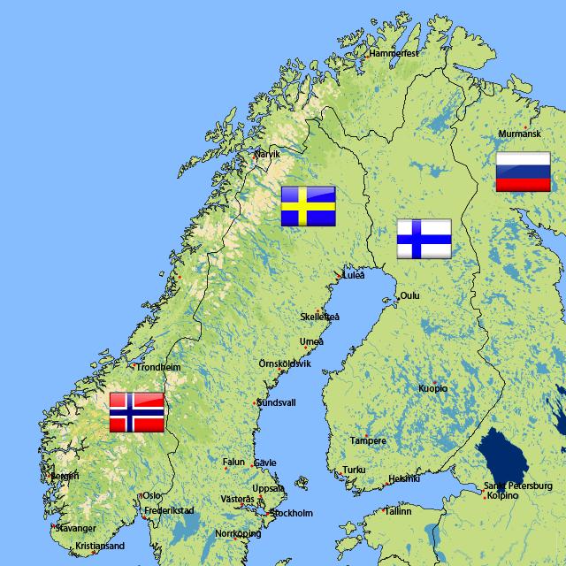 skandinavien Bruegmann Deutschland implementiert FlexRoller mit den größten Tankstellen Ketten in Skandinavien